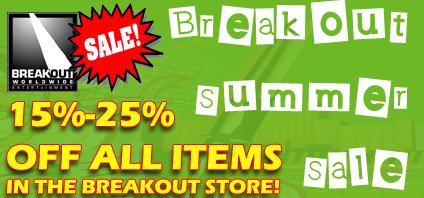 Breakout Summer Sale